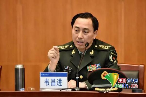 """""""改革前卫""""称号获得者、枣庄军分区政委韦昌进。主理方供图"""