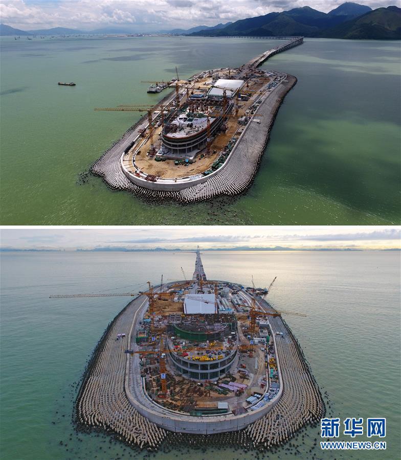 (经济)(6)港珠澳大桥主体工程全线贯通